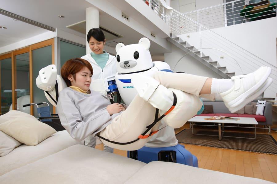 japan robot riken helper 2