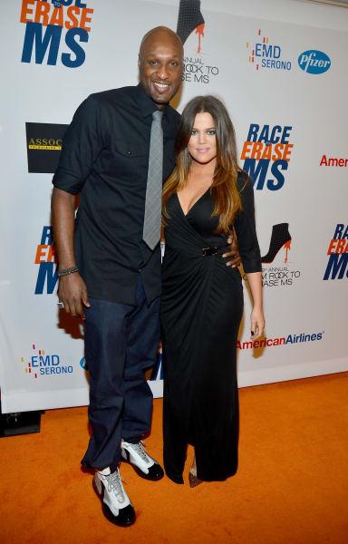 Lamar Odom Khloe Kardashian file