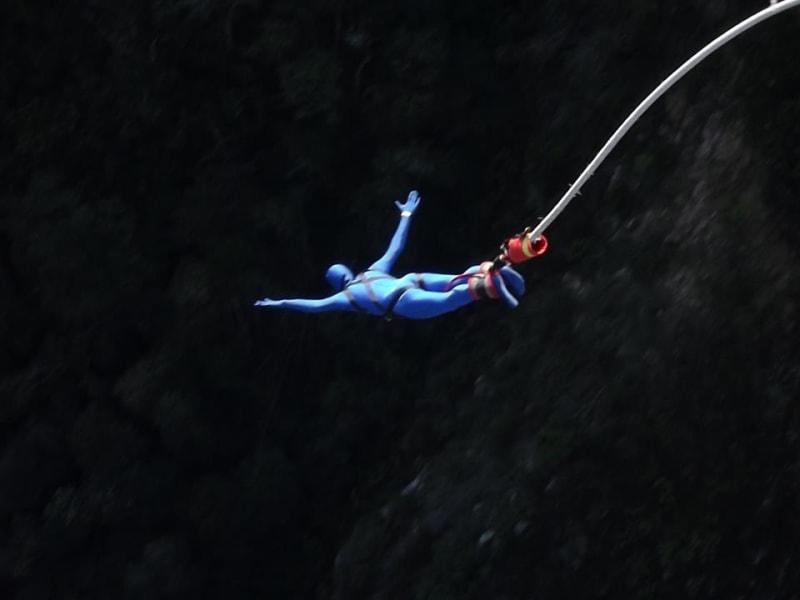 Morph Bungee jump