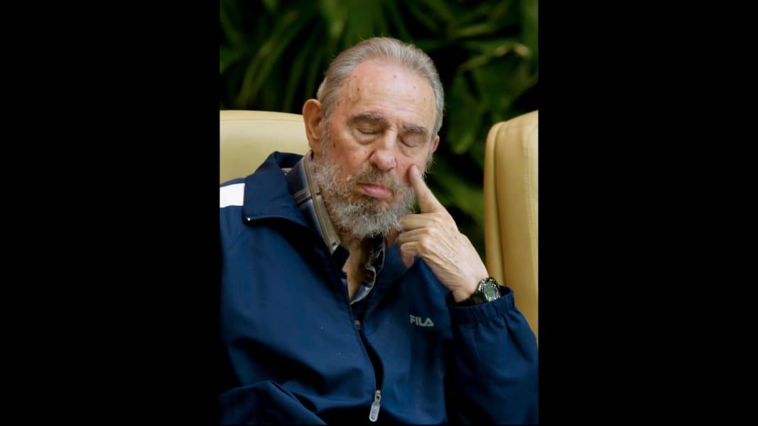 Fidel Castro Sleep