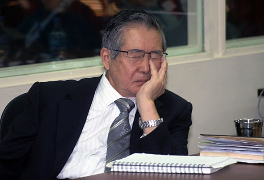 Alberto Fujimori Sleep