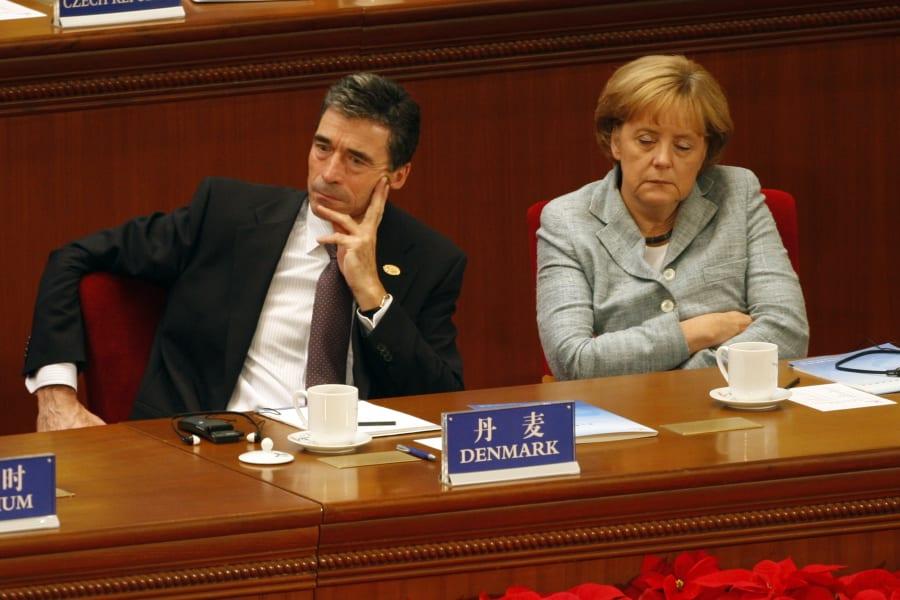 Angela Merkel Sleep