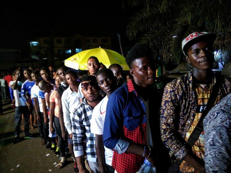 nigerian felabration fans queue