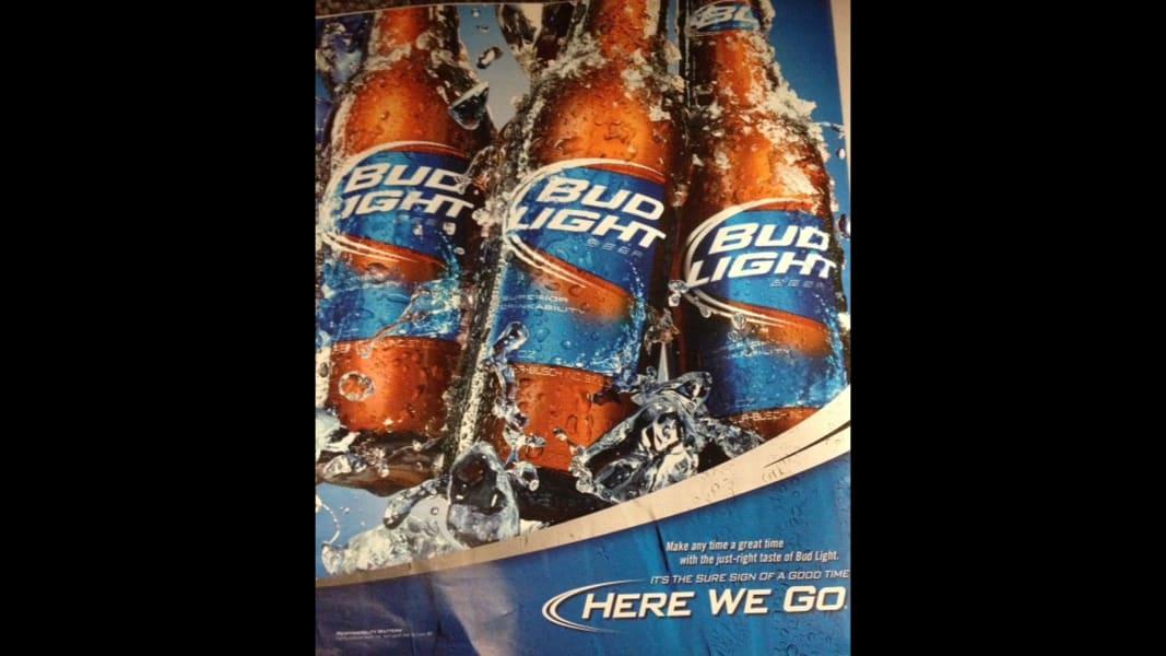 Bud Light ad