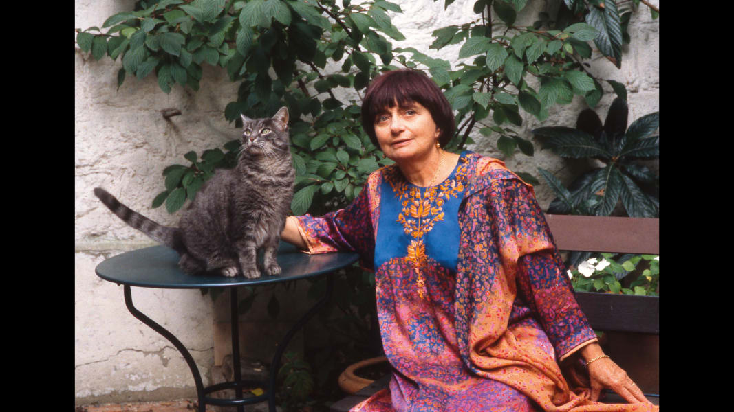01 Artists and their Cats_AgnesVarda.jpg RESTRICTED