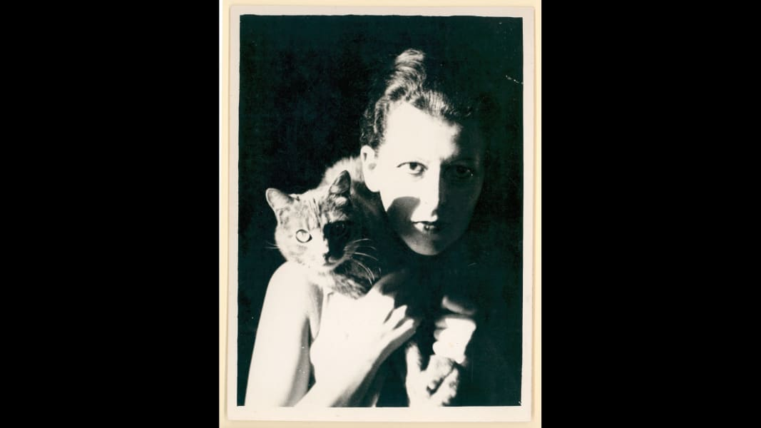 03 Artists and their Cats_ClaudeCahun.jpg RESTRICTED