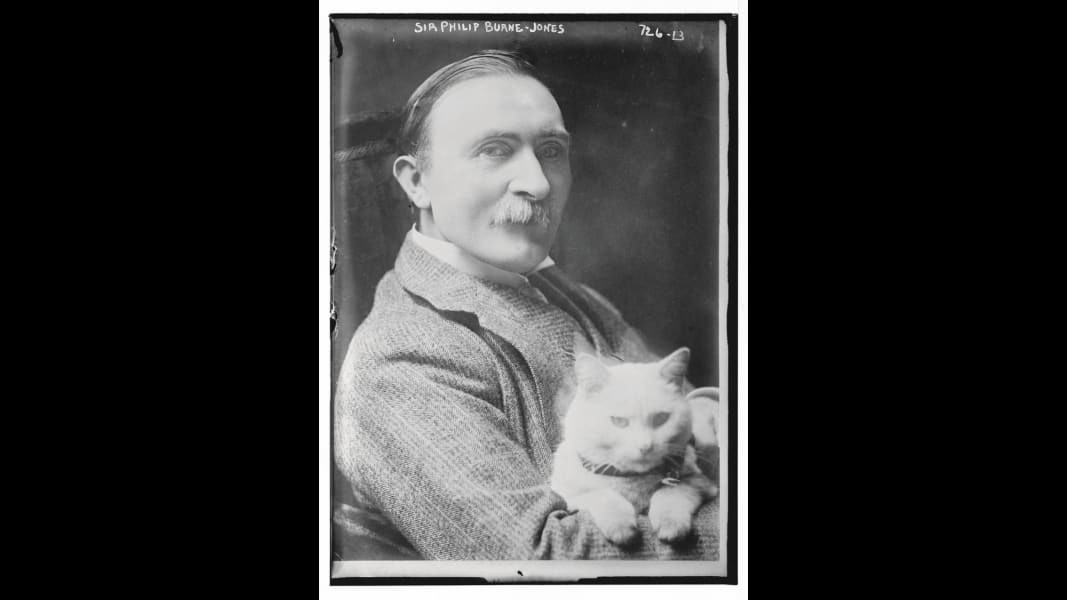 09 Artists and their Cats_PhilipBurneJones.jpg RESTRICTED