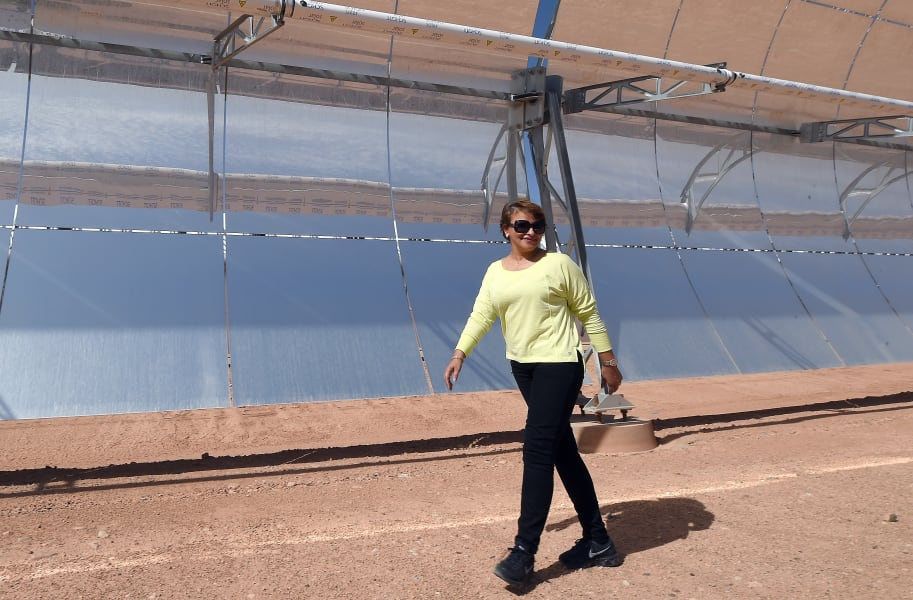 Noor solar plant