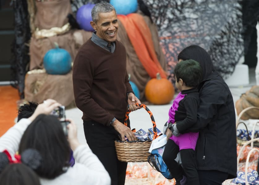 barack obama halloween