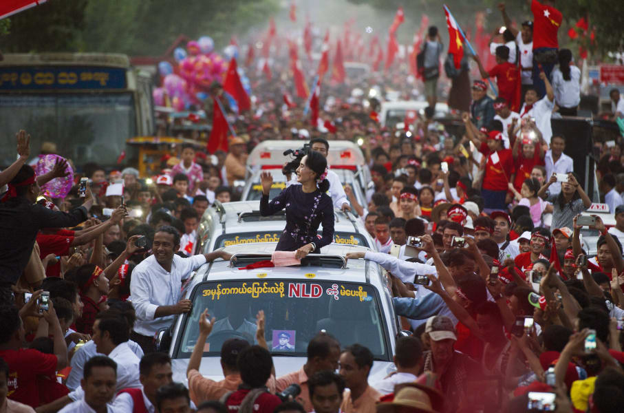 burma election rally suu kyi
