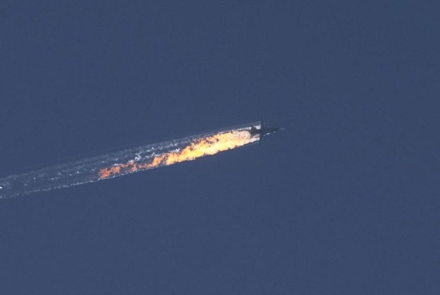 russia jet syria crash 1