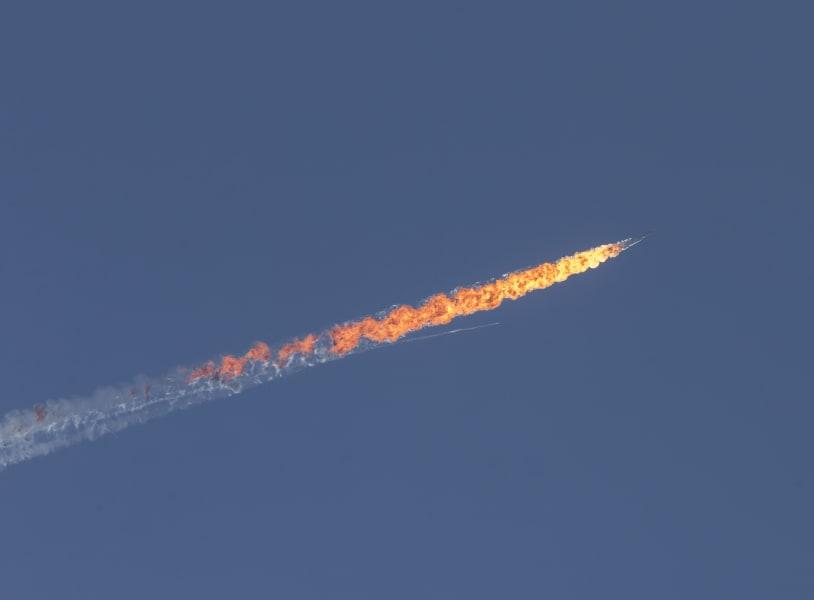 russia jet syria crash 3
