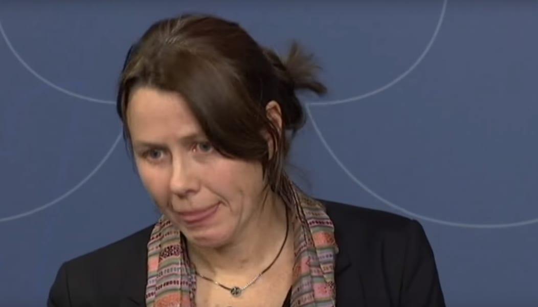 Åsa Romson near tears