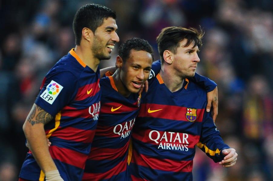 Messi Neymar Suarez Sociedad