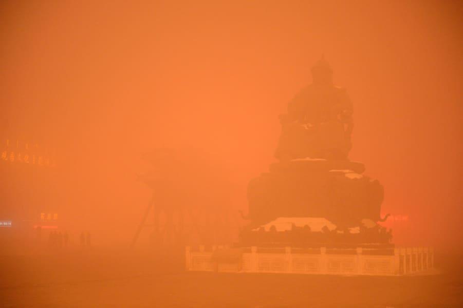 china inner mongolia hohhot worst smog 1129