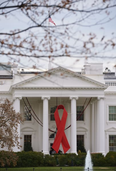 white house world aids day 2014