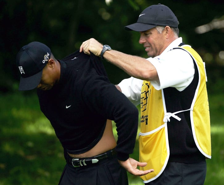 Tiger Woods back inhury