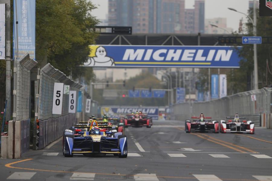 Formula E Beijing race
