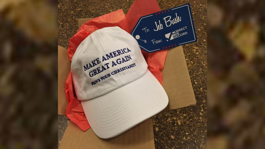 jeb bush hat