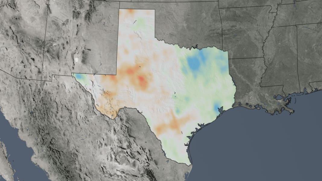 NASA air quality Texas