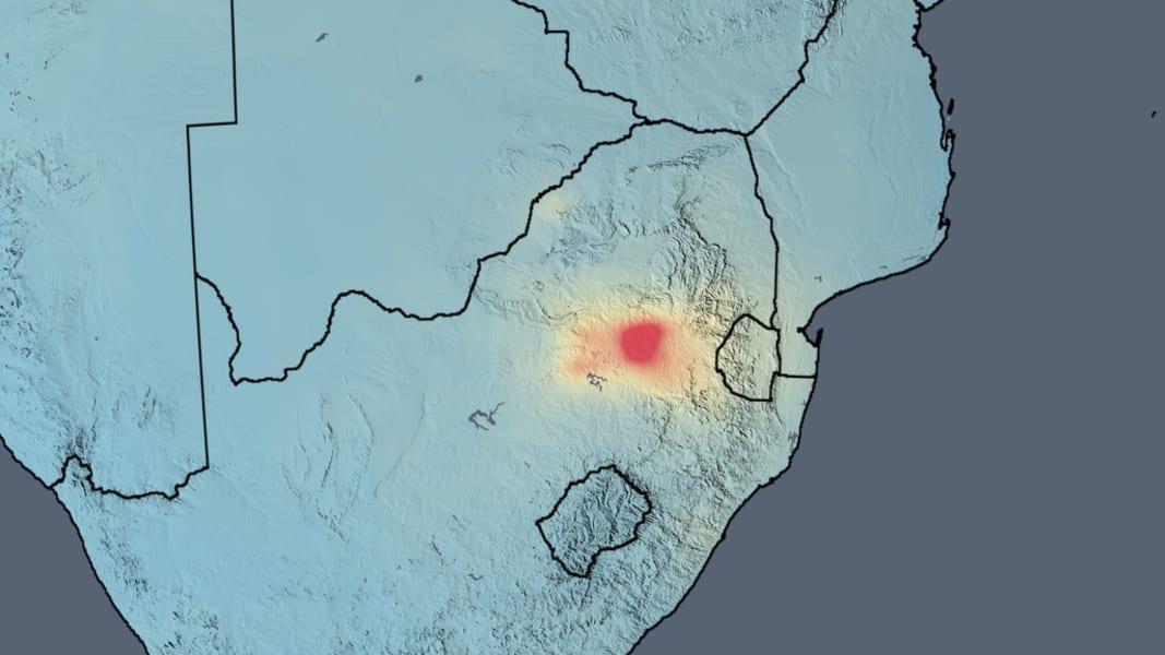 NASA air quality South Africa 2014