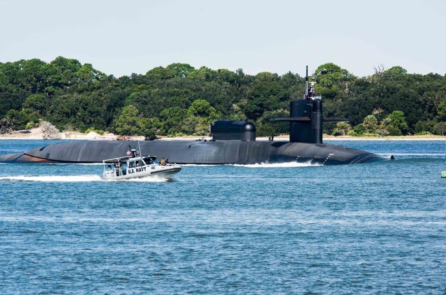 USS Georgia submarine