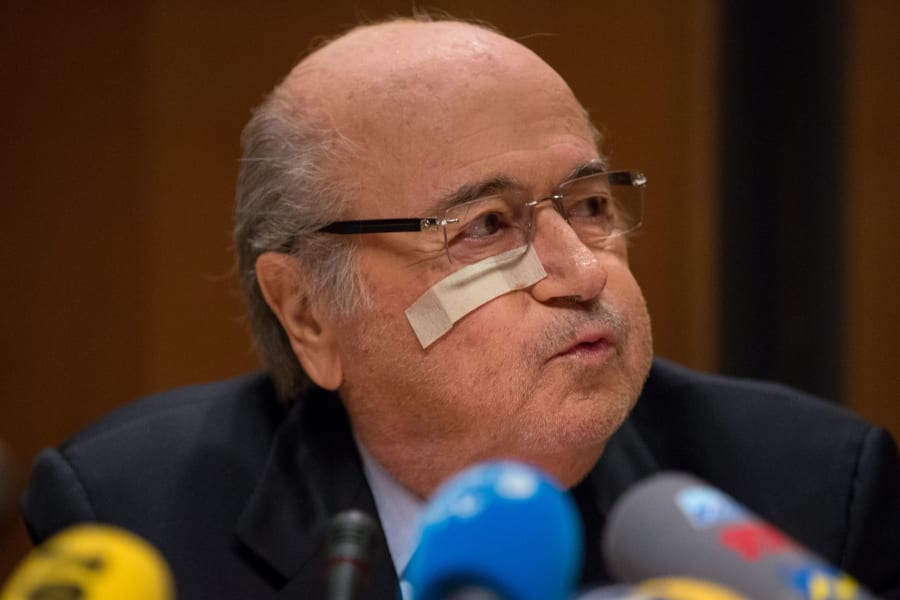 blatter ban press conference