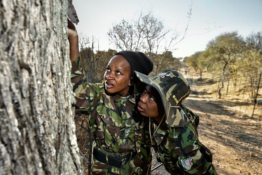 Black Mambas anti poaching South Africa