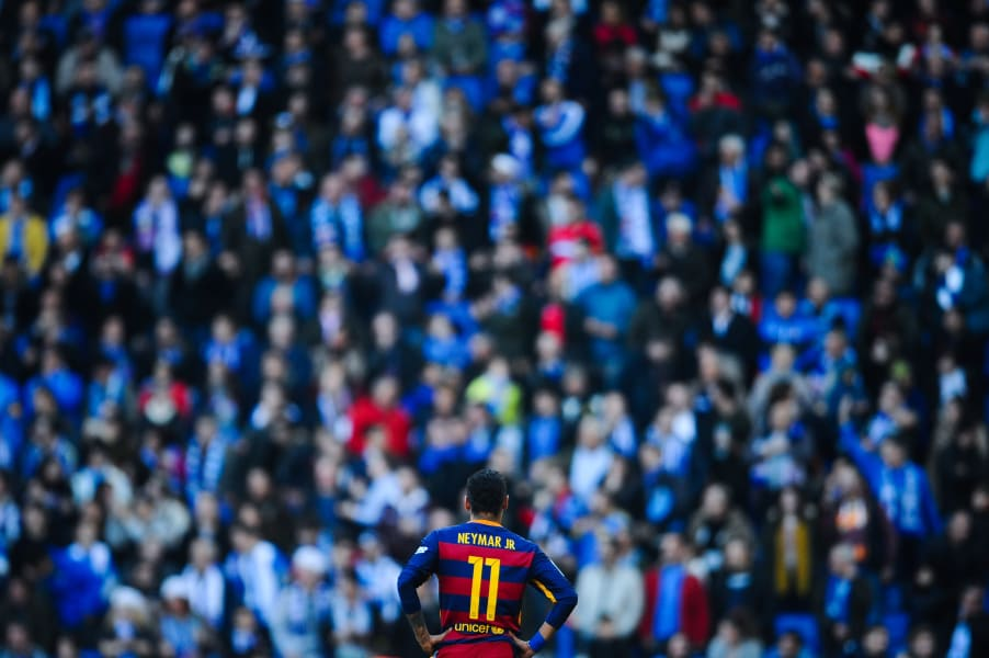 barcelona espanyol neymar