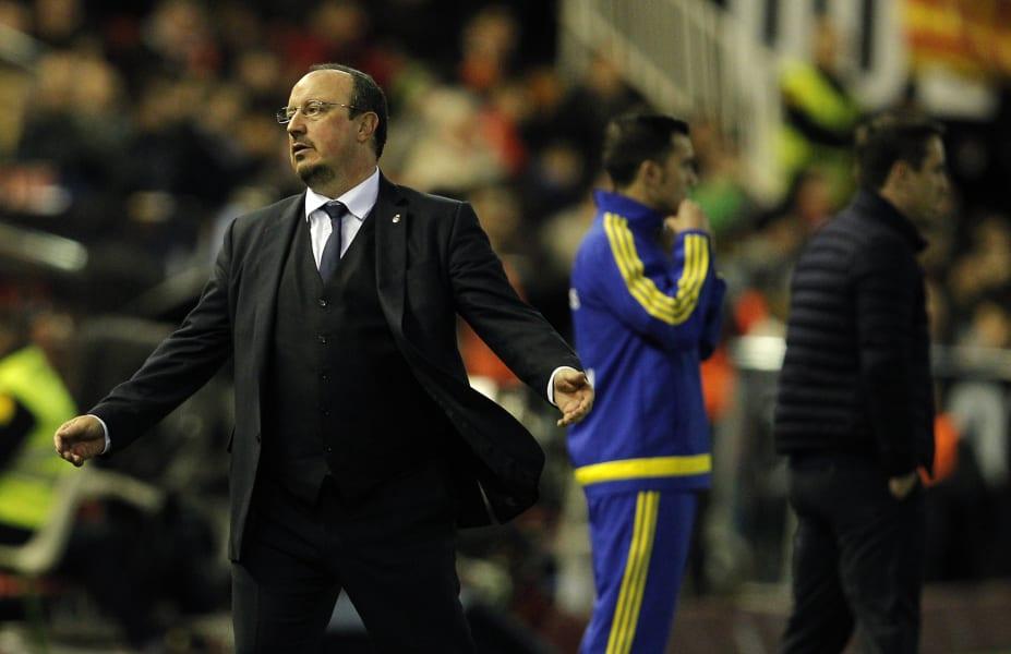 Rafael Benitez sacked Real Madrid Valencia