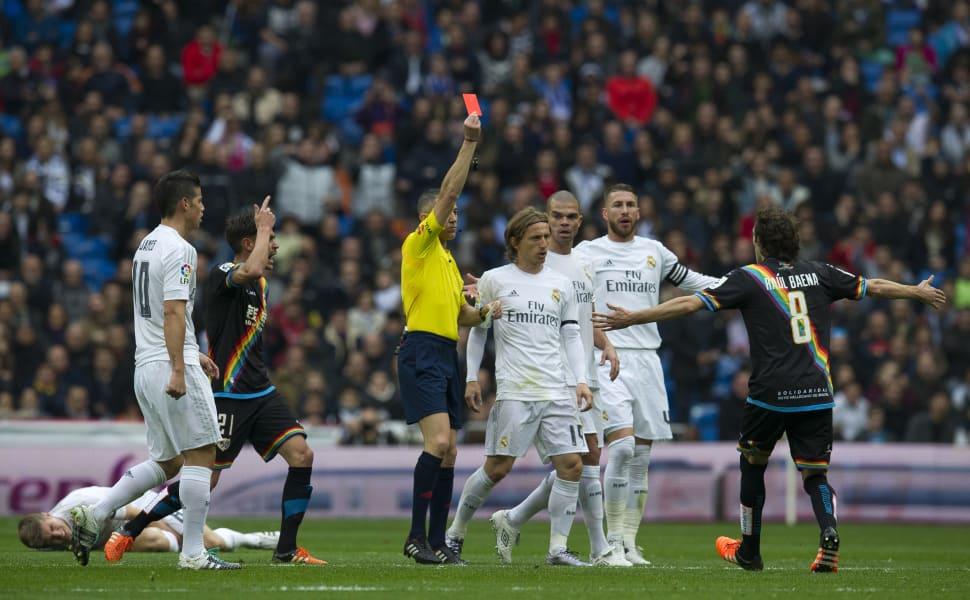 Real Madrid Rayo Vallecano Rafael Benitez sacked