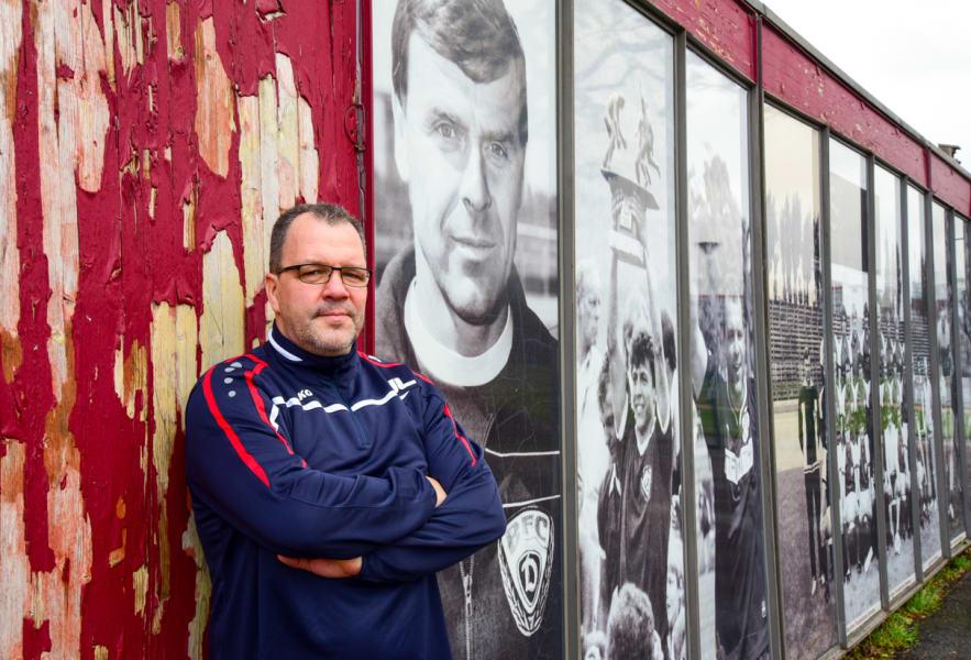 Dynamo Berlin team manager Jörn Lenz
