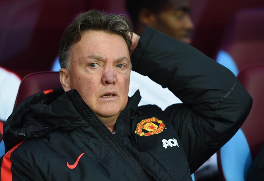 Van Gaal angry