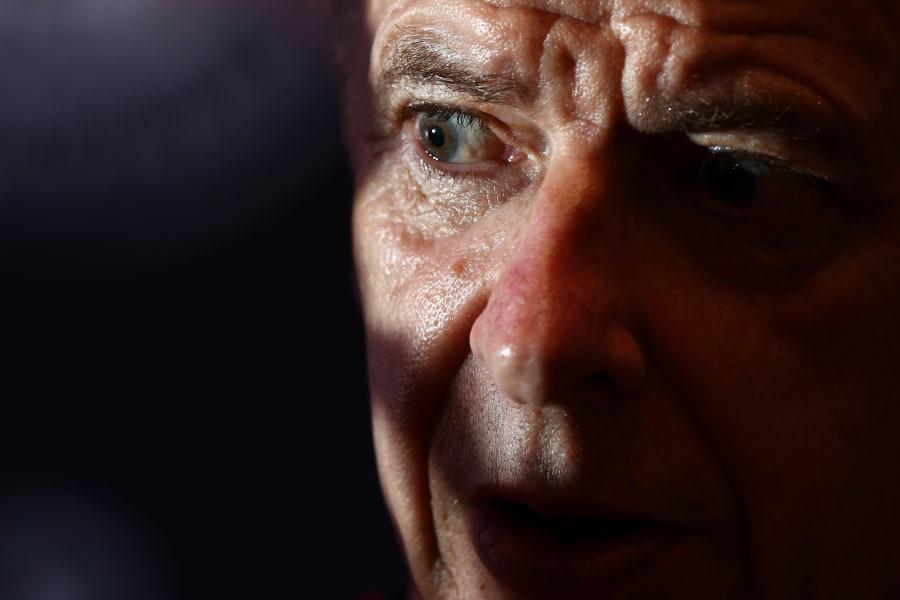 Wenger close up
