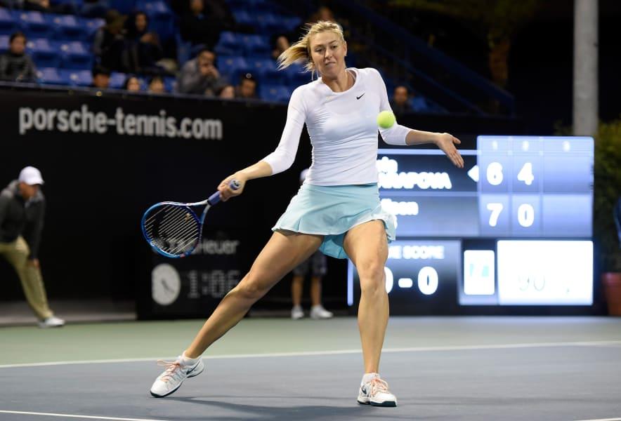 Serena Williams: Sharapova injured, withdraws