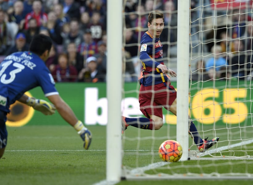 barcelona granada messi goal