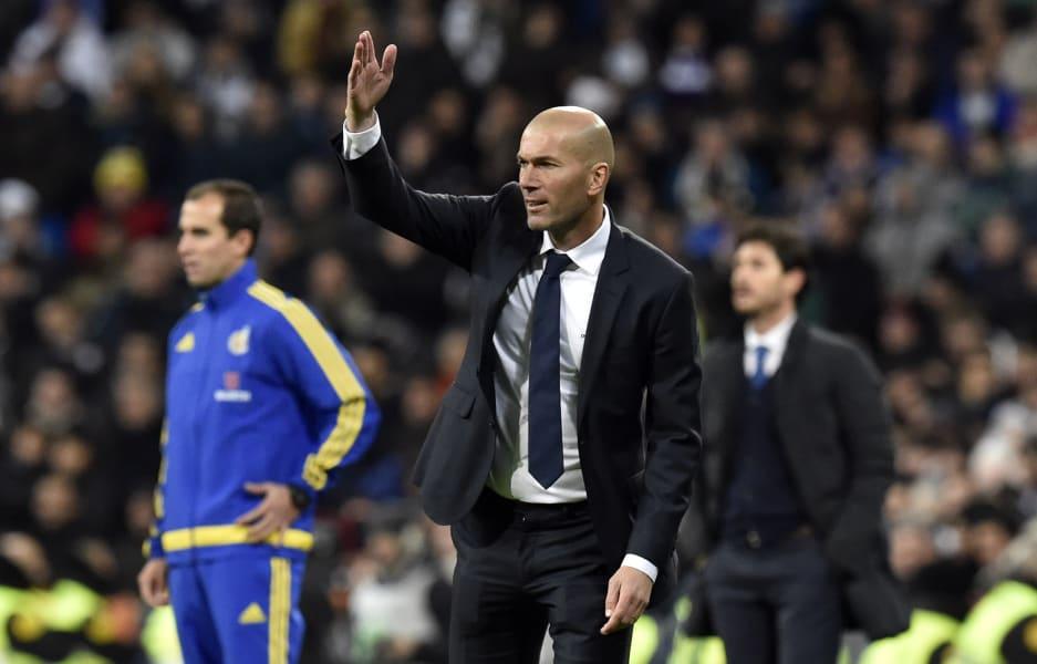 Zidane real madrid deportivo