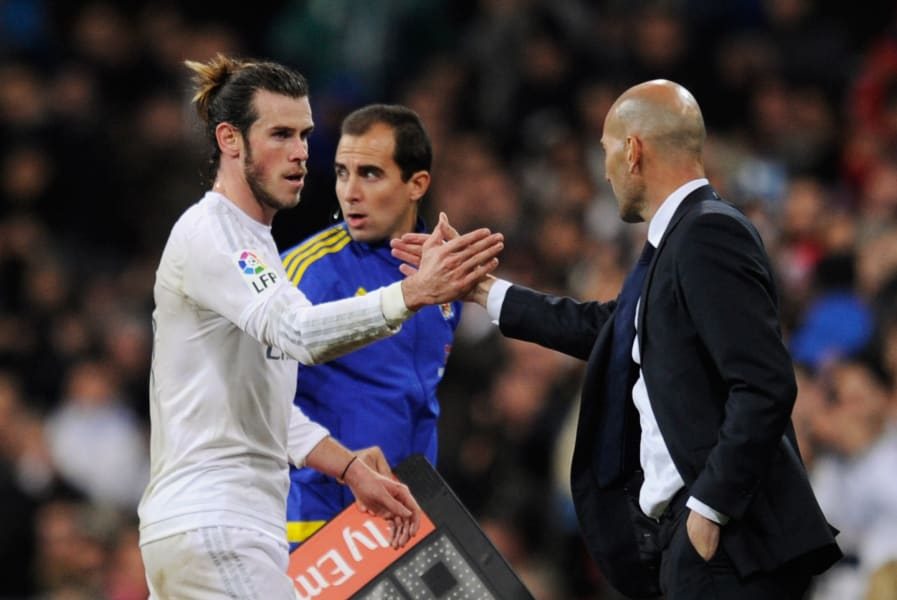 zidane bale real madrid deportivo