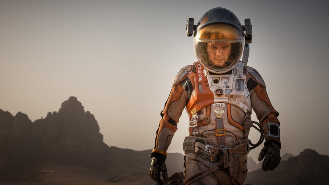 Matt Damon The Martian tease