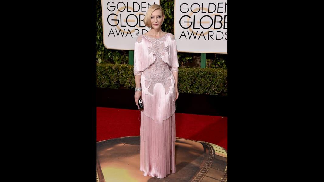 golden globes red carpet - Cate Blanchett