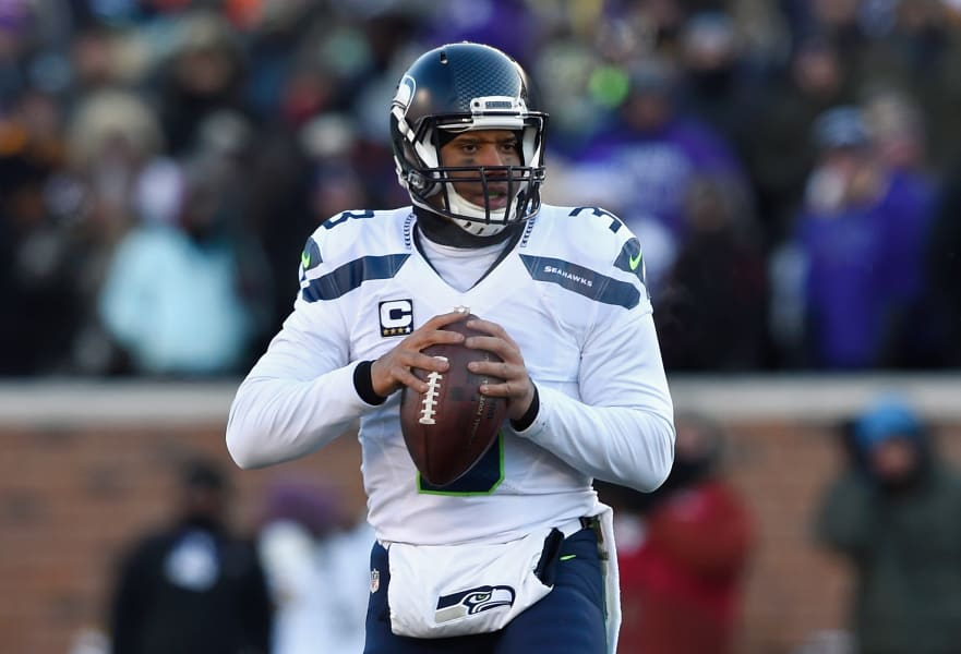 Russell Wilson NFL playoffs 2016