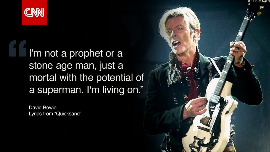 David Bowie\'s best quotes