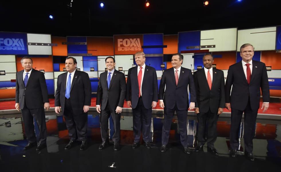22 fox biz news debate candidates