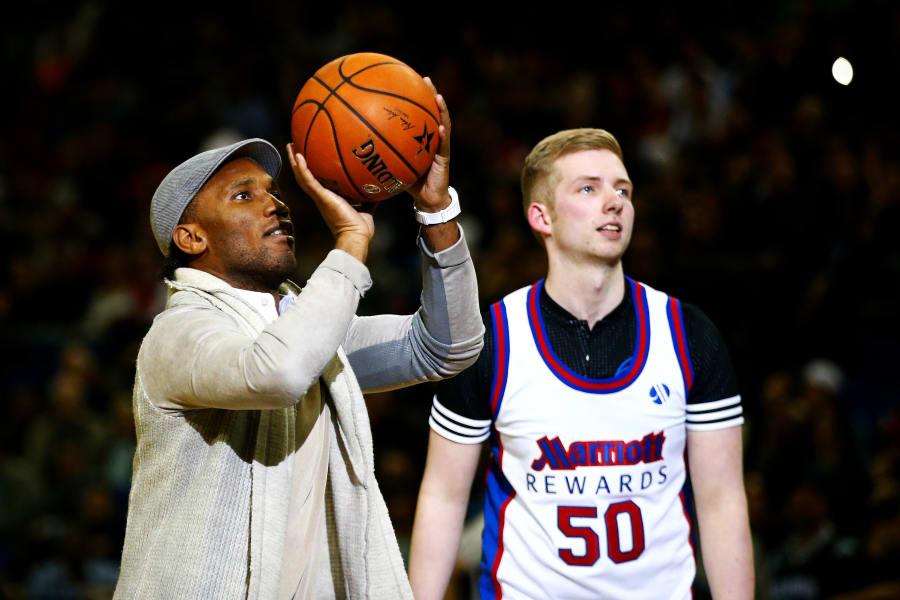 Drogba at the NBA
