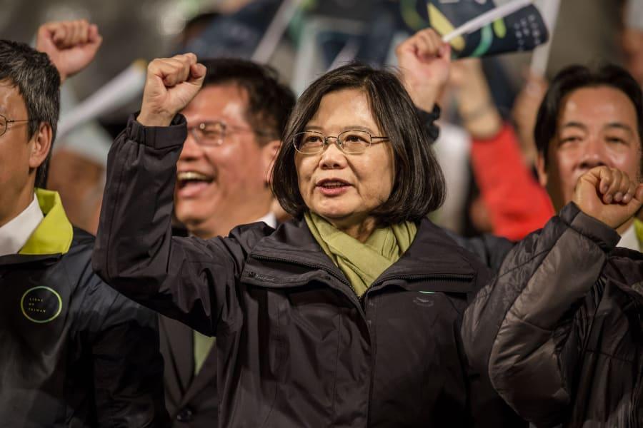 Tsai Ing Wen 2016 female leader
