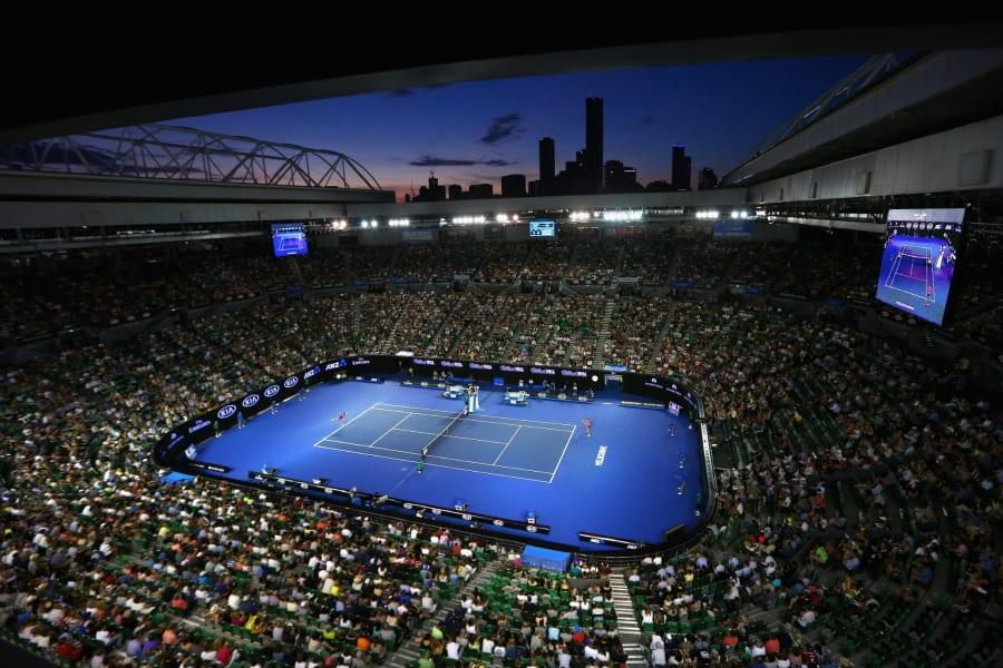 Australian Open court view 2016