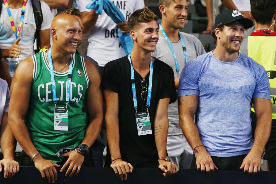 Kokkinakis watches Australian Open 2016