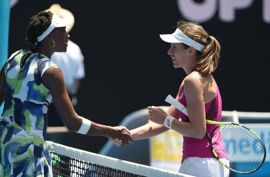 Venus Williams defeat