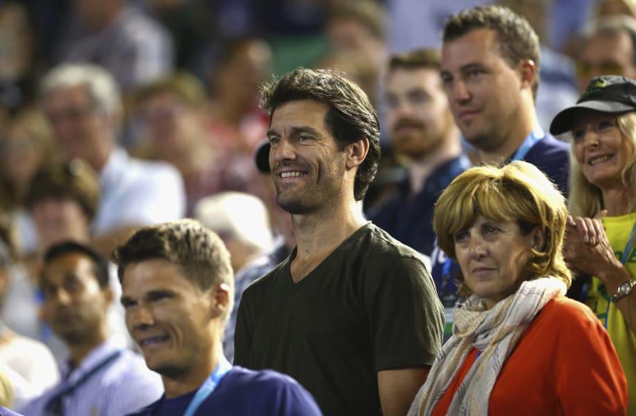 Mark Webbet Australian Open