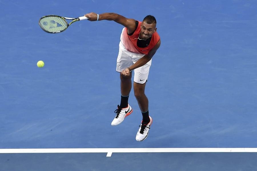 Krygios shorts Australian Open